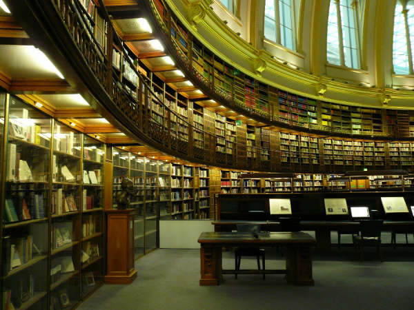 大英博物馆中庭和大英图书馆环形阅览室图片