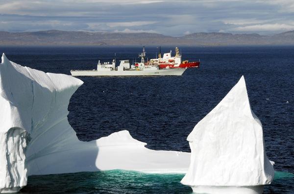 August 26, 2008 - Hudson Strait, Arctic Ocean