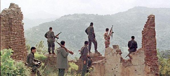 AQIM Terrorists in Ouzou, Algeria