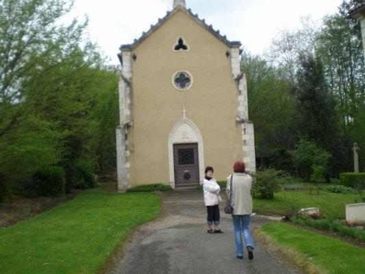 La Chapelle Notre Dame de Tonnetau à Gondrin